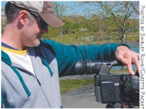 Jason Hunter and Camera
