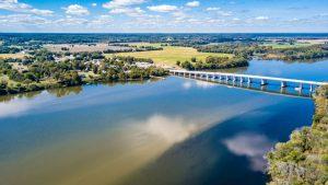 Drone imagery of the beautiful Rappahannock